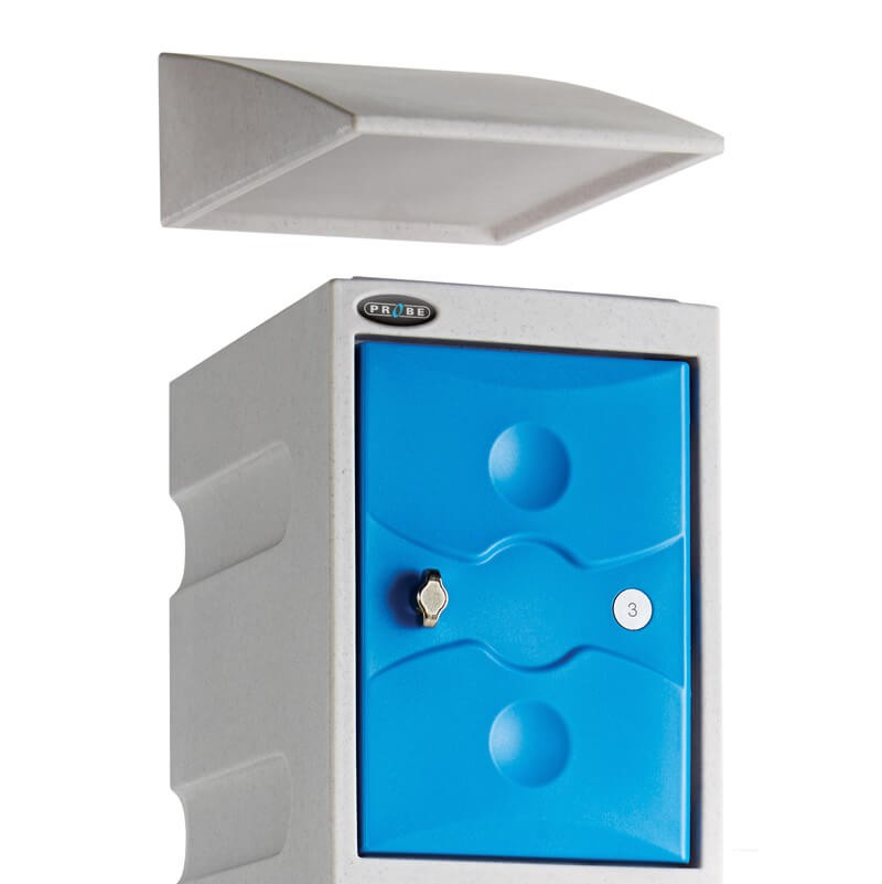 Plastic Sloping Top - Locker Accessory