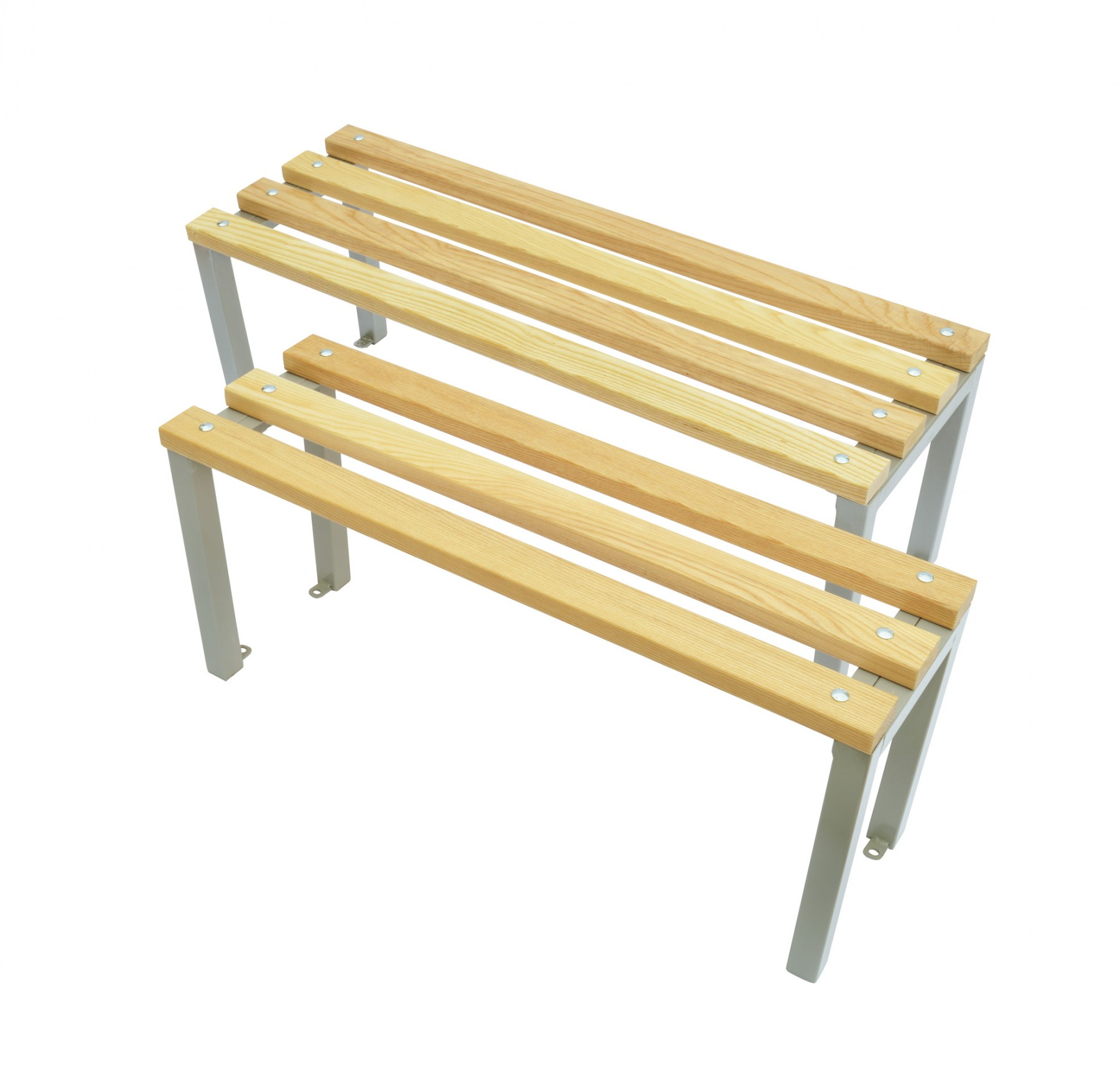 Wooden Cloakroom Bench