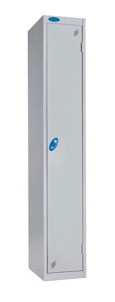 Single Compartment Aqua Coat Locker