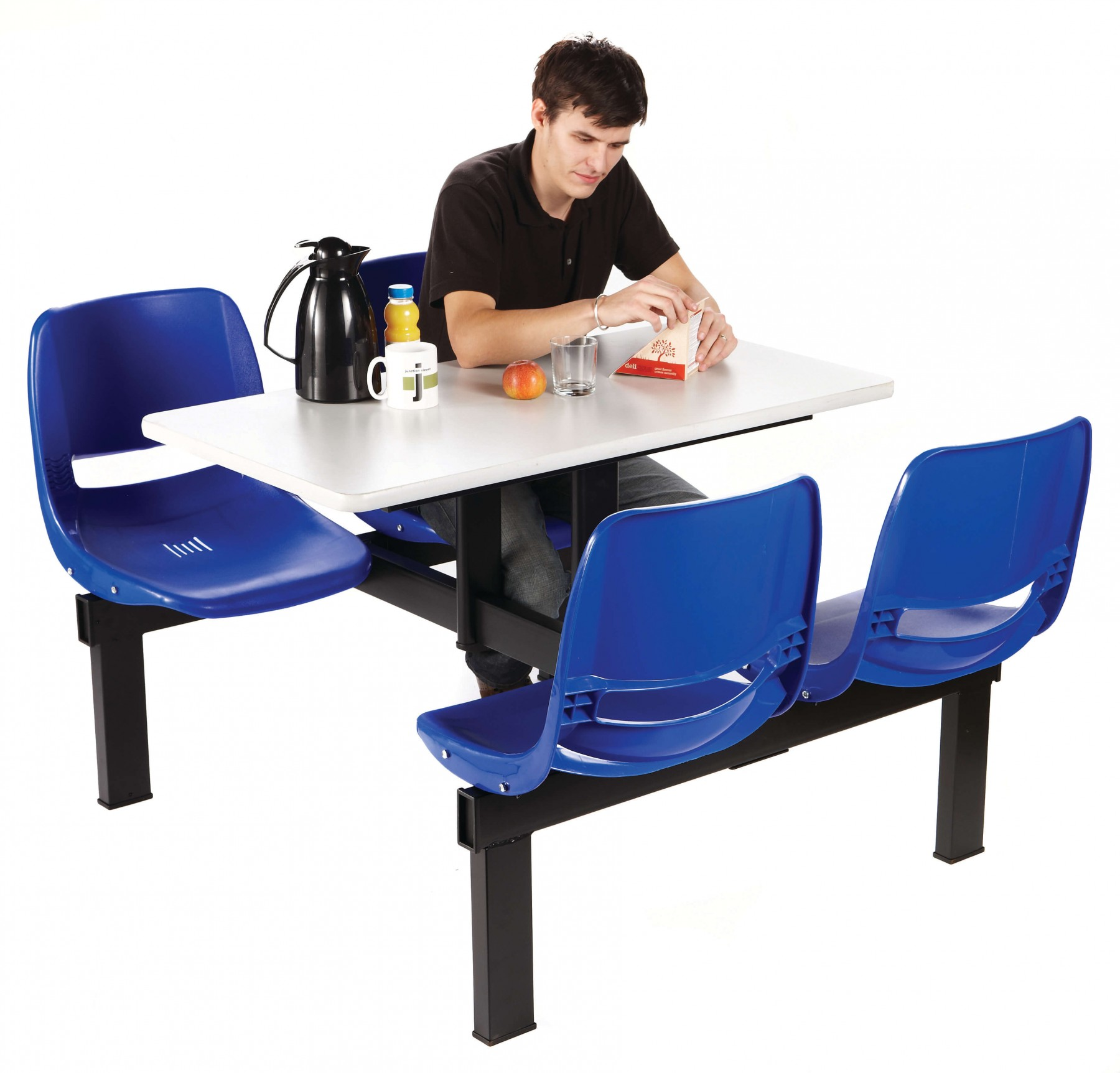 Value Canteen Table with Plastic Seats