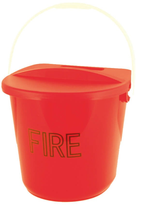 Polypropylene fire bucket