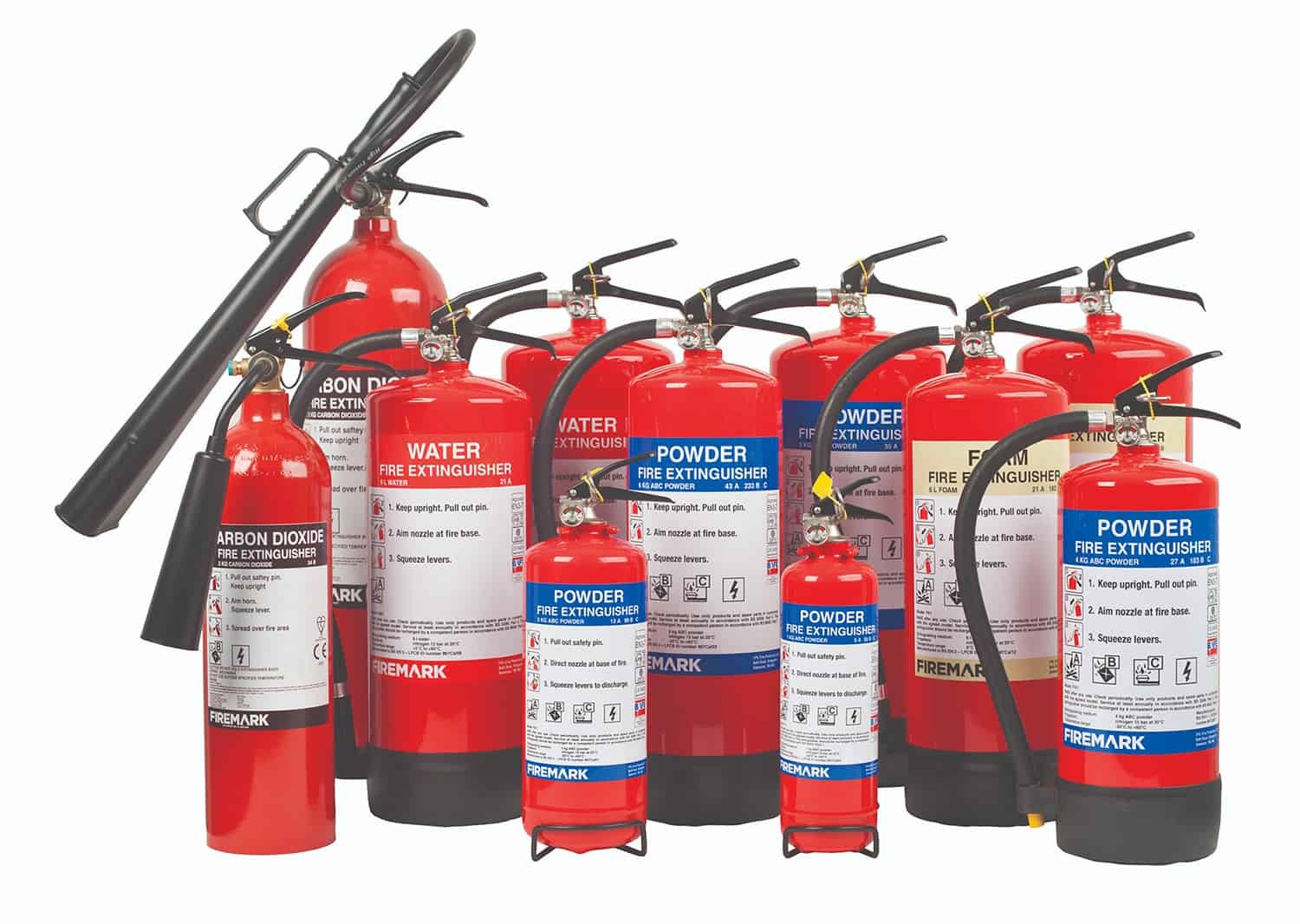 CO2 - Fire extinguisher