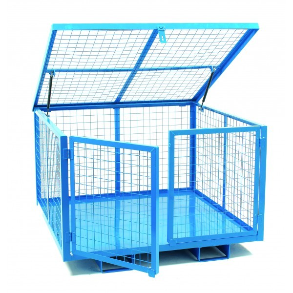 Cage with Lift Up Lid