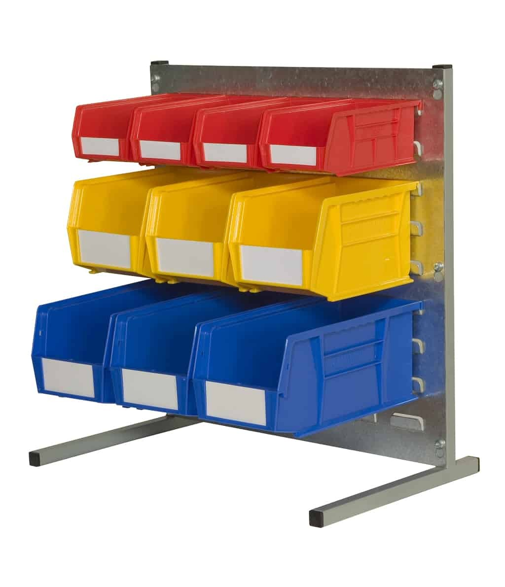 Bench Stands with Plastic Bins (P)