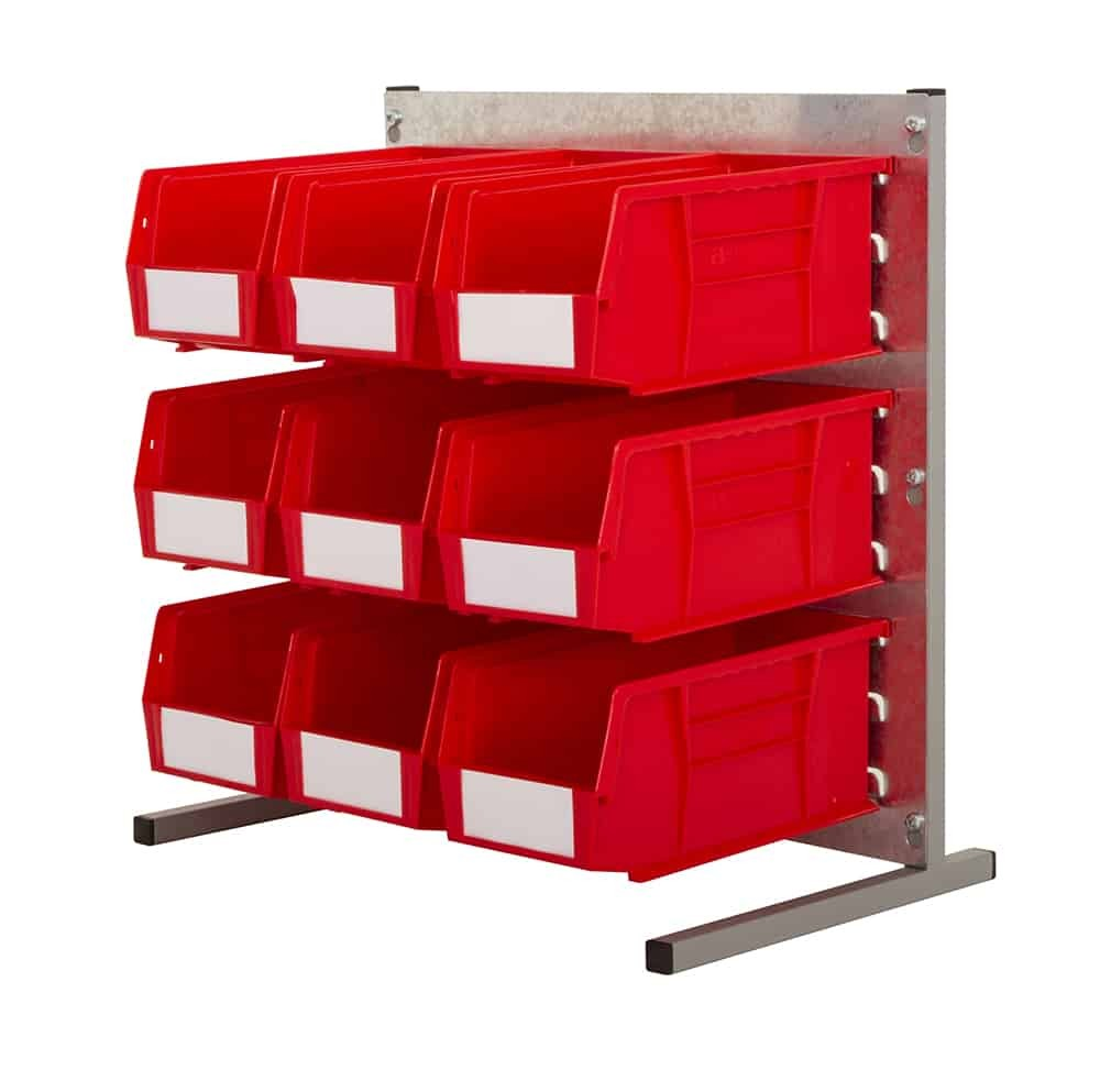 Bench Stands with Plastic Bins (Q)