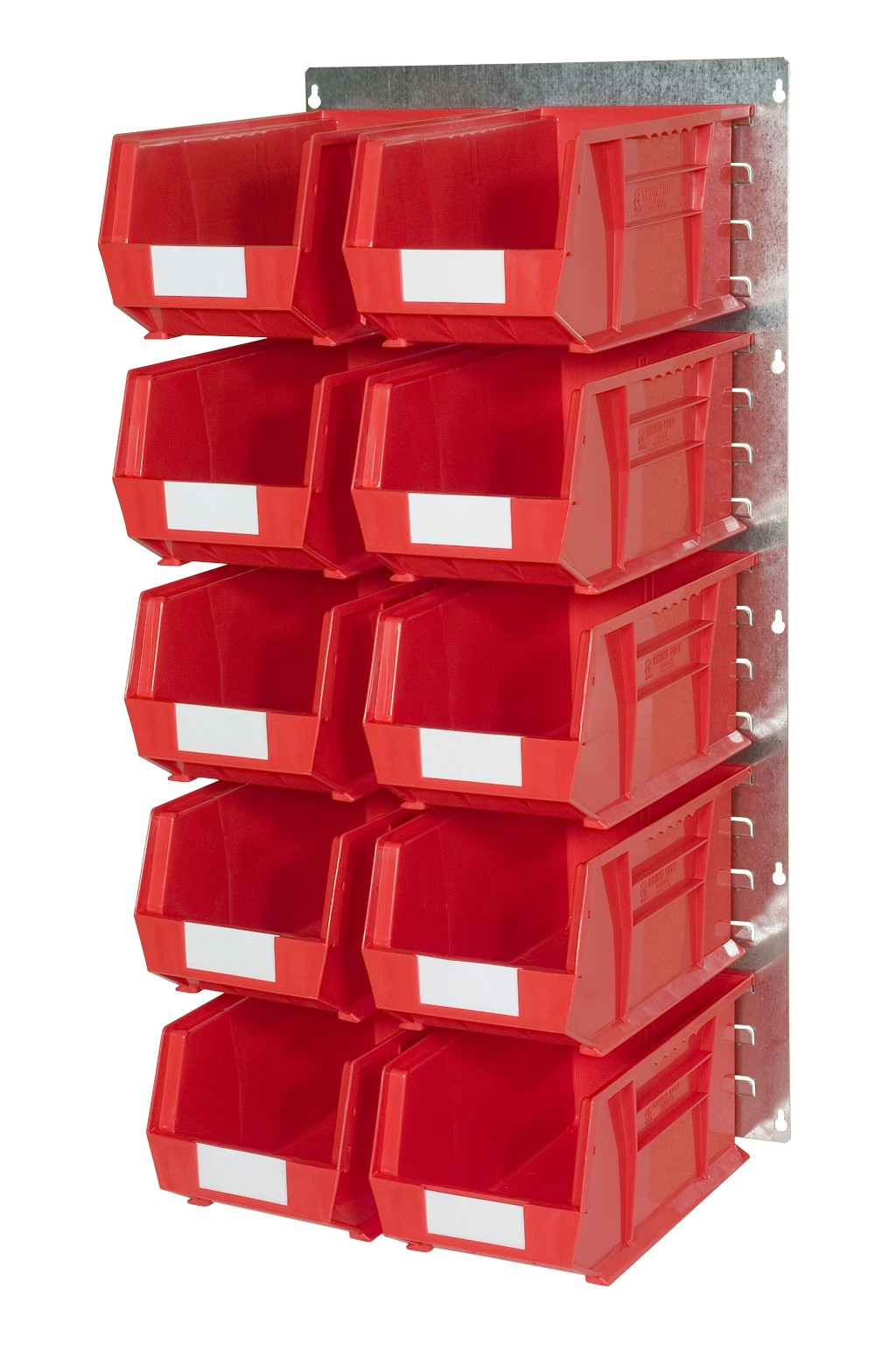 WALL LOUVRE PANELS WITH PLASTIC BINS (HP)
