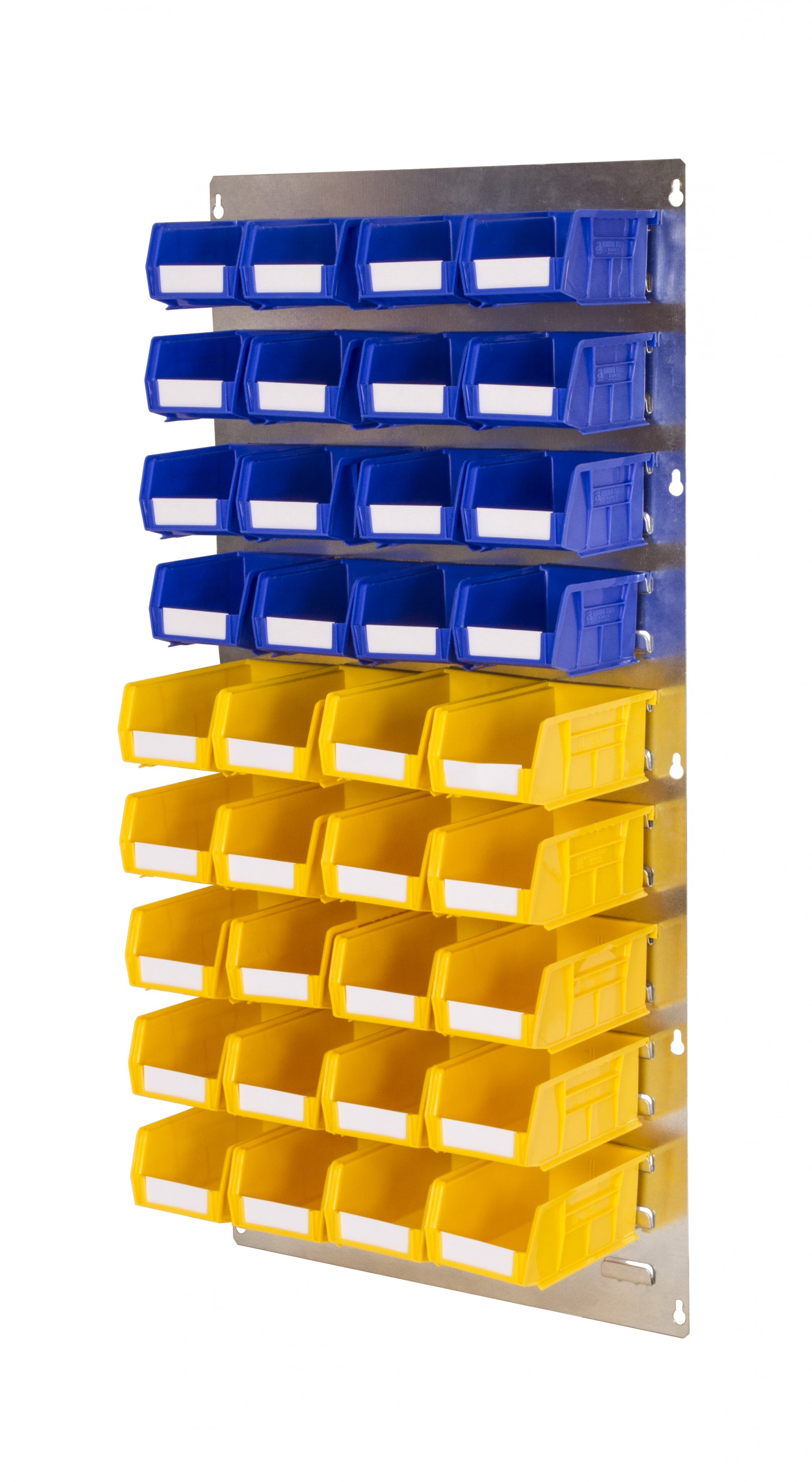 WALL LOUVRE PANELS WITH PLASTIC BINS (LP)