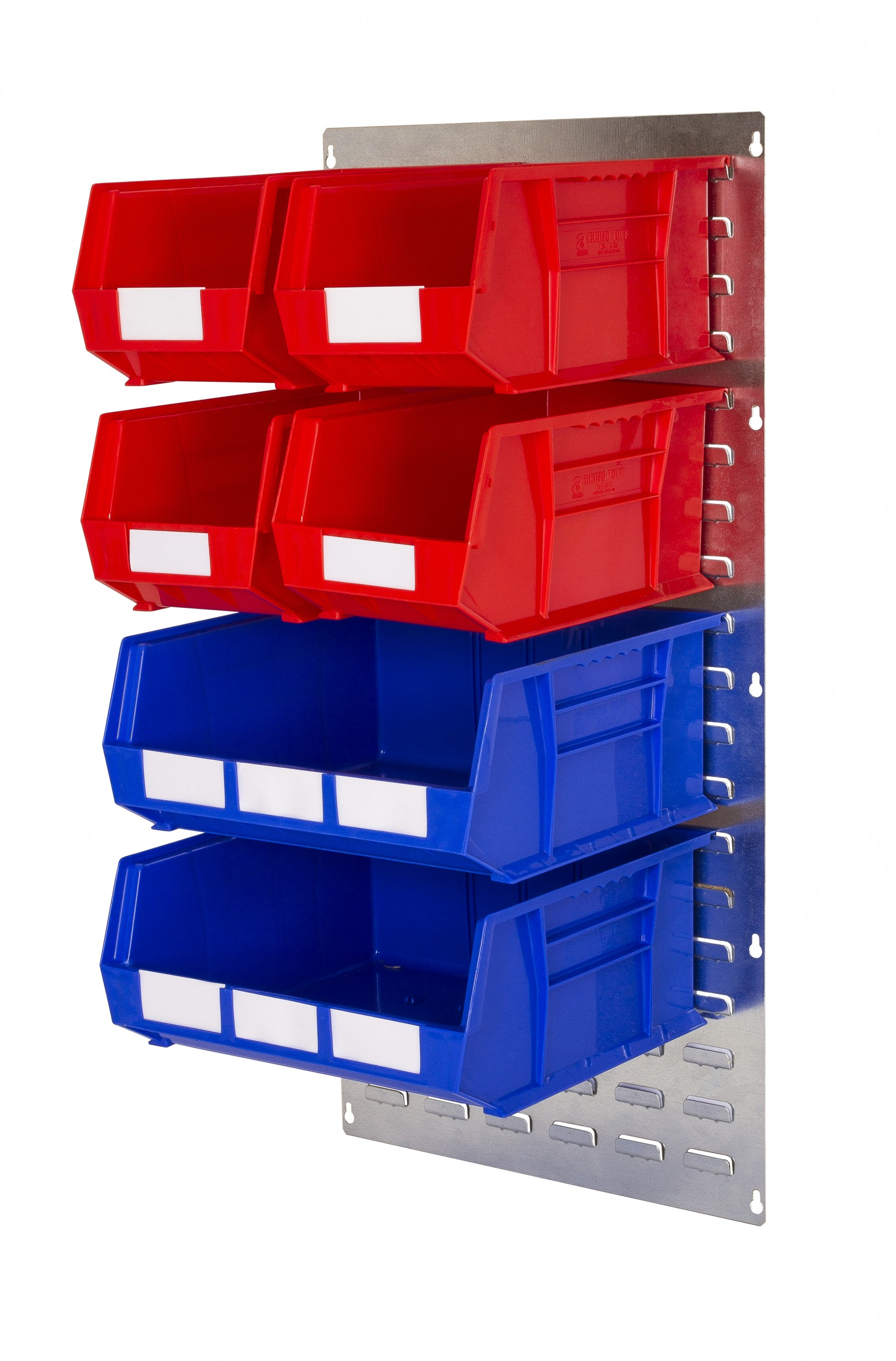 WALL LOUVRE PANELS WITH PLASTIC BINS (QP)