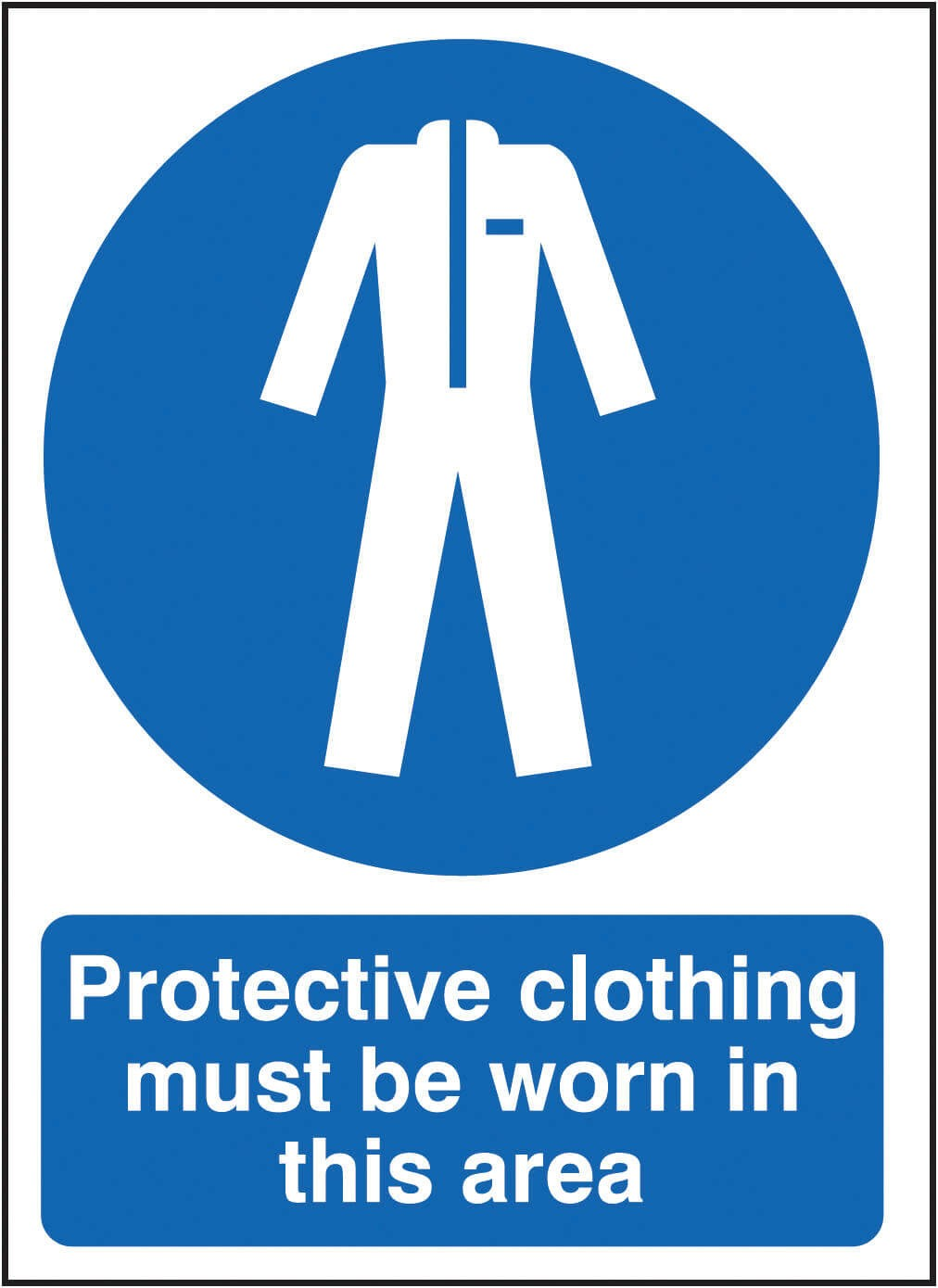 Protection clothing must be worn in this area