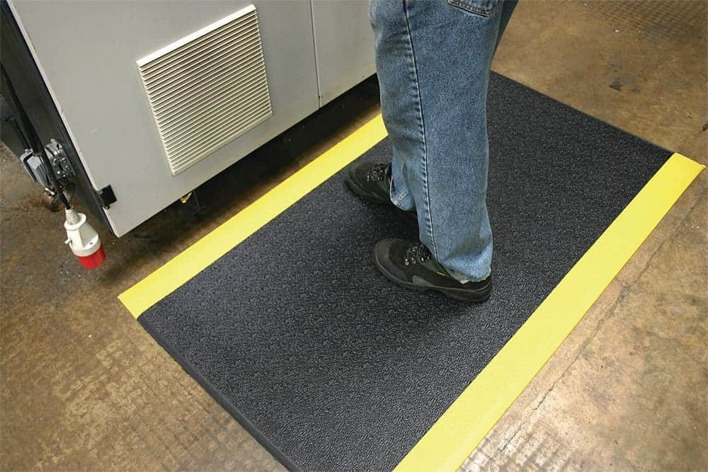 Anti Fatigue Mat with Safety Strip