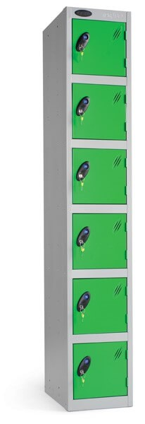 Six Compartment Locker