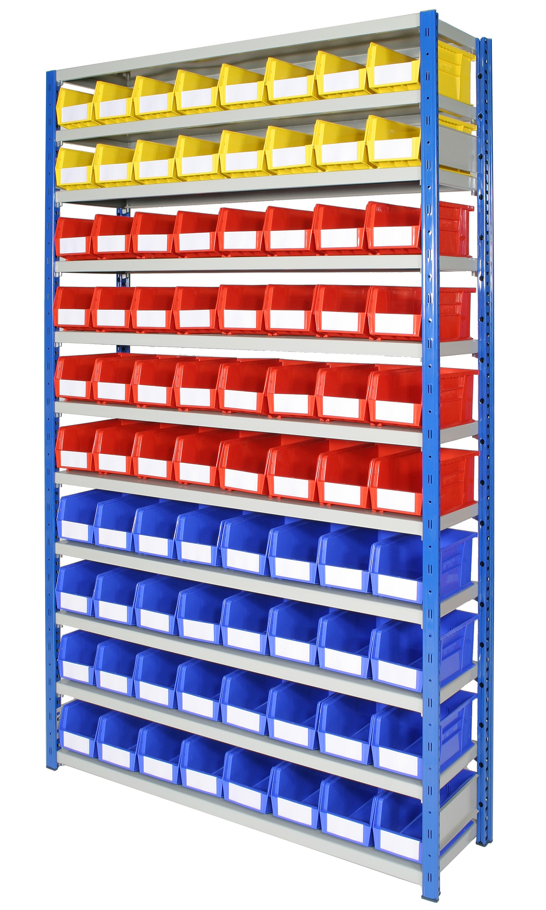 Expo 4 Bays with Plastic Bins - Option D