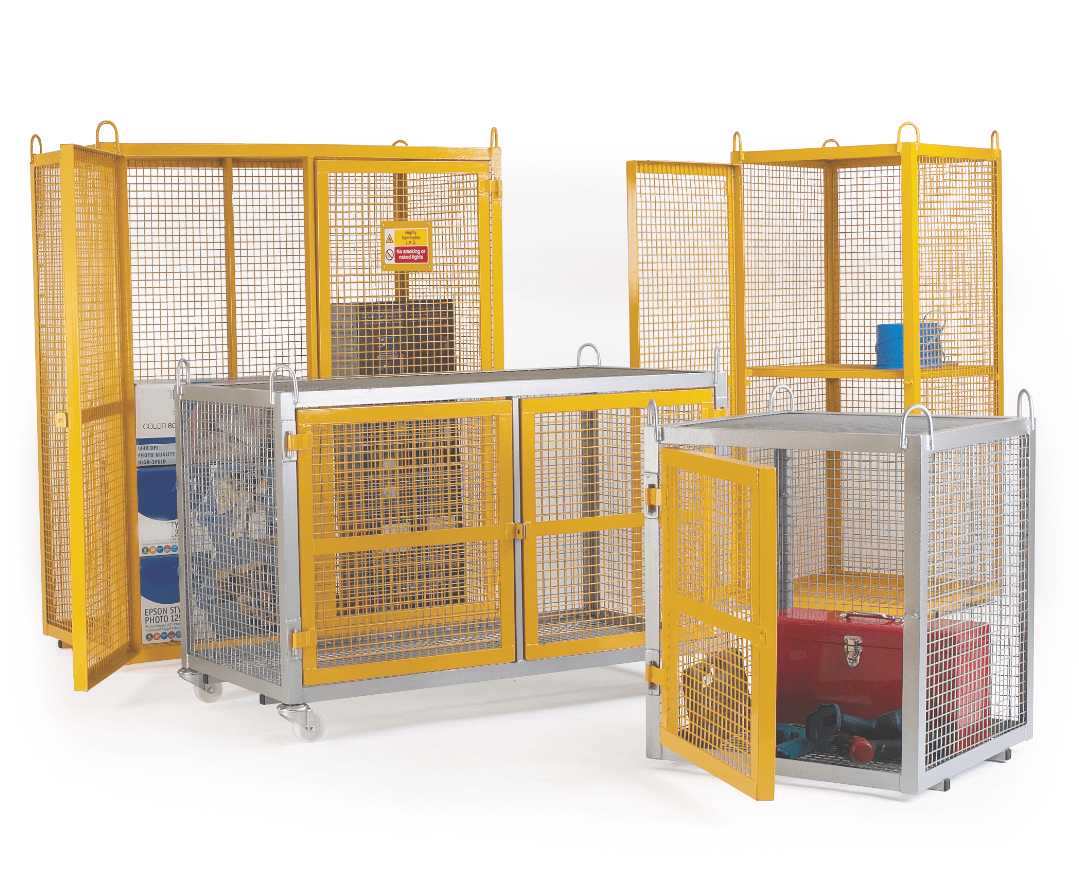 Fixed Security Cage