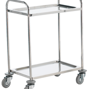 Stainless steel shelf trolleys