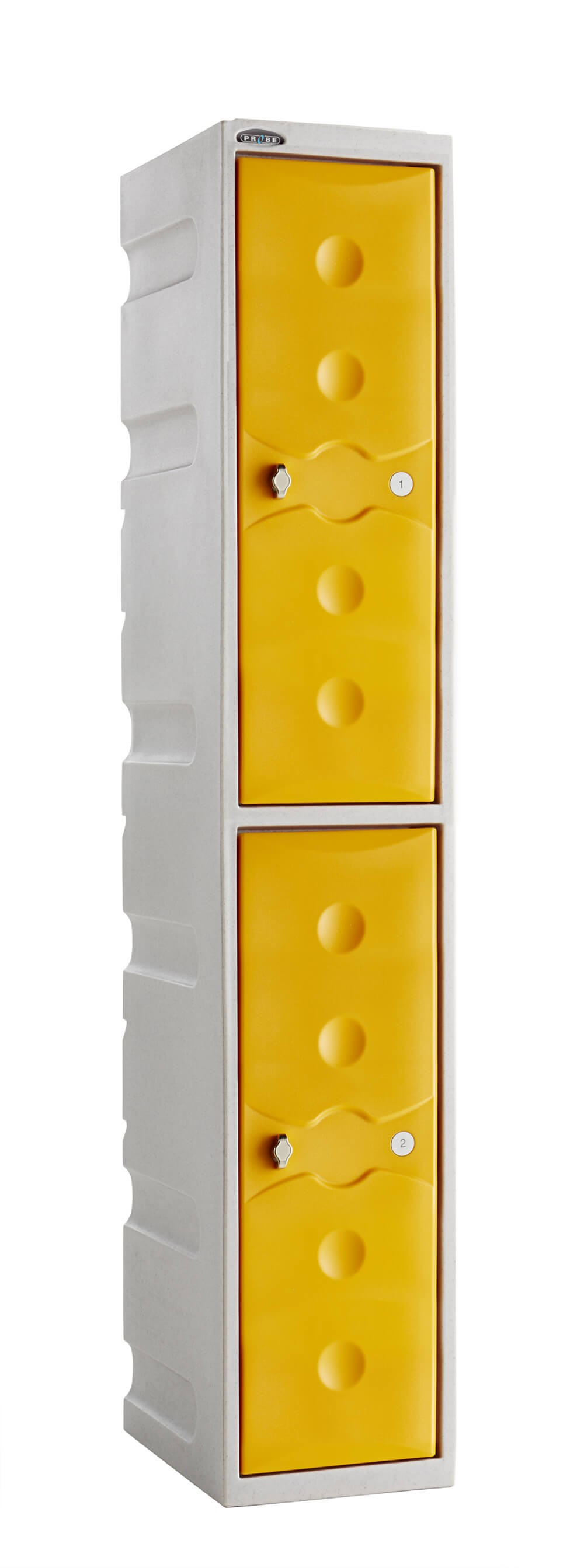 Two Compartment Plastic Locker