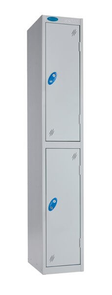 Double Compartment Aqua Coat Locker