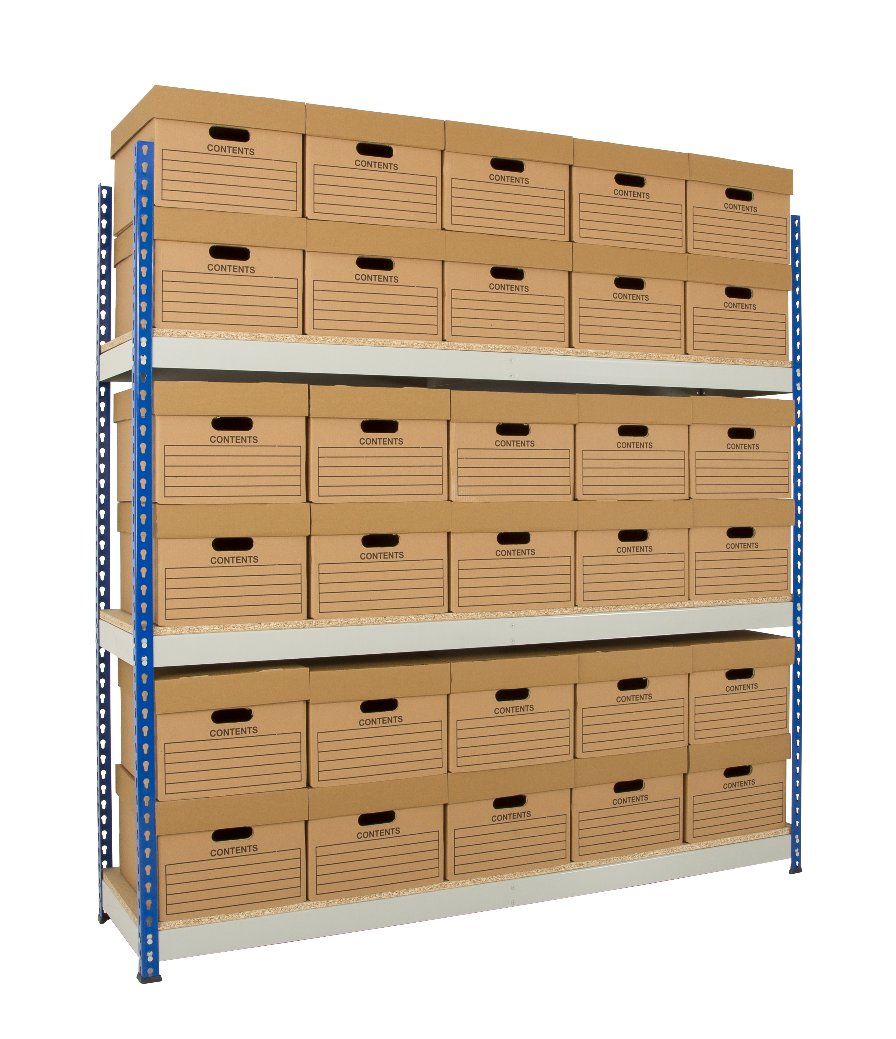 Archive Shelving - 1525mm Wide