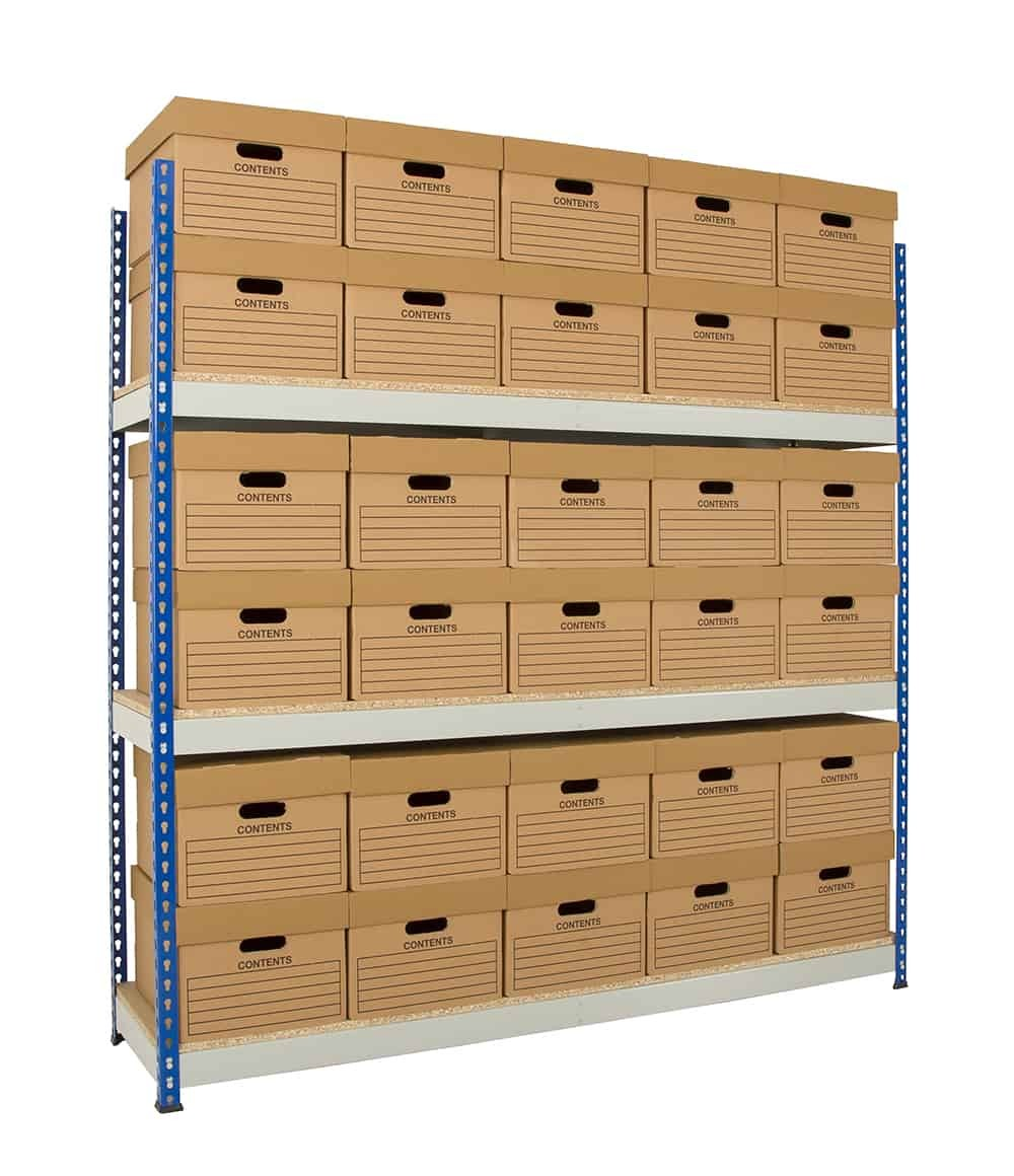Archive Shelving - 1830mm Wide