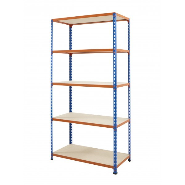 Boltless Chipboard shelving