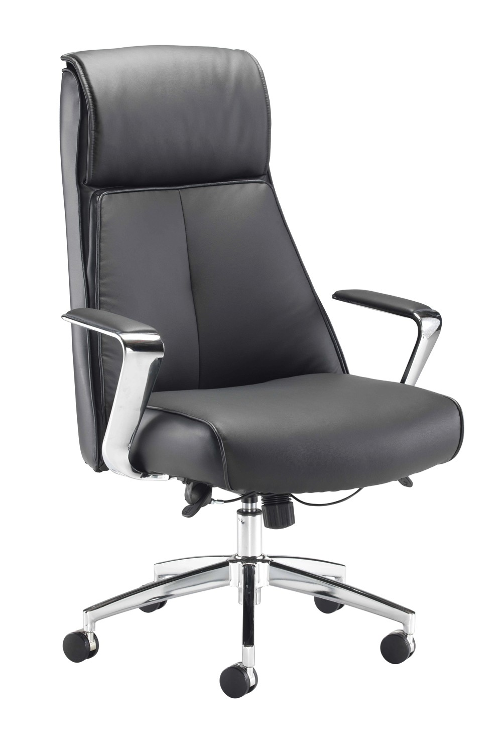 York Leather Look Chair