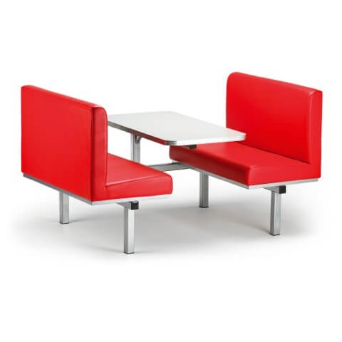 Canteen Table with Sofa Seating