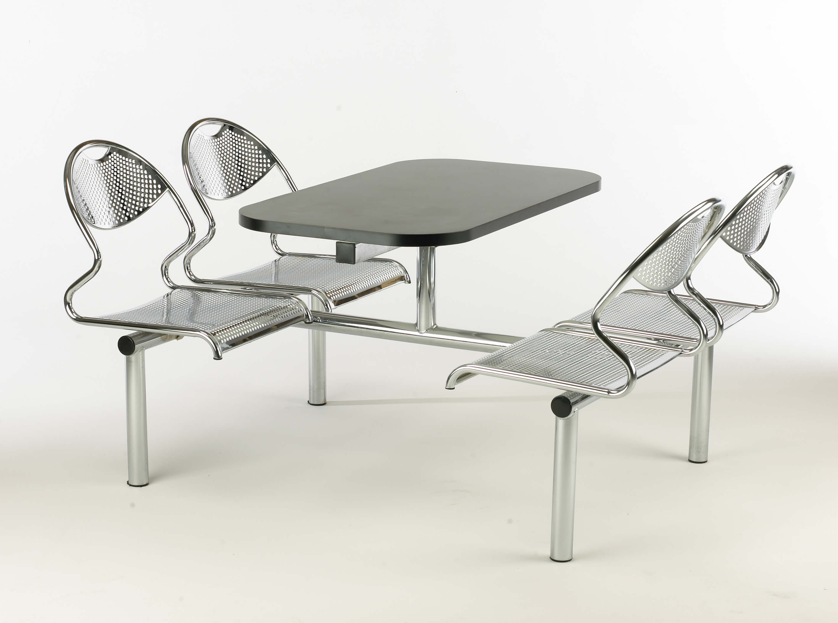 SPACE Canteen Table with Metal Frame & Seats
