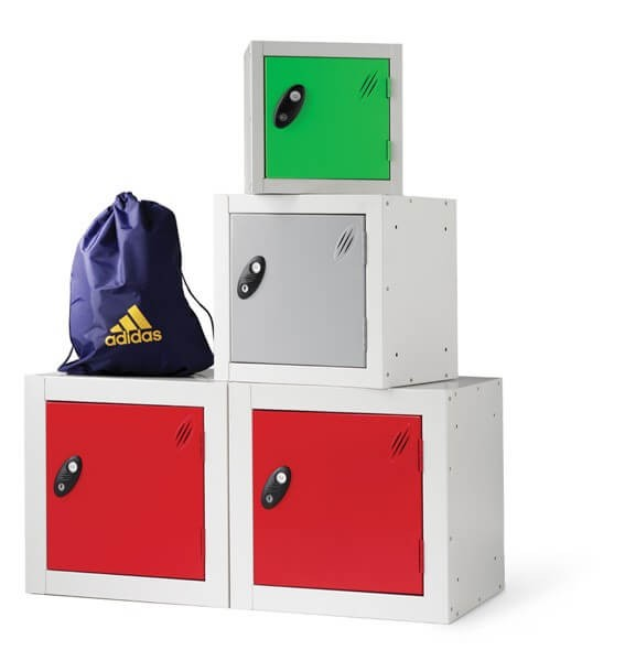 Cube Shaped Locker