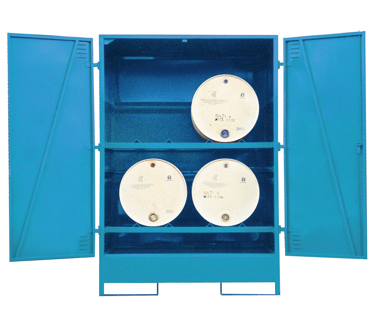 Fully Enclosed Drum Store - Horizontal