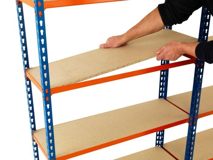 Extra Level for Stockroom Shelving