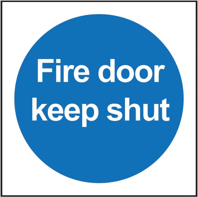 Fire Door Keep Shut - Dalvie Systems