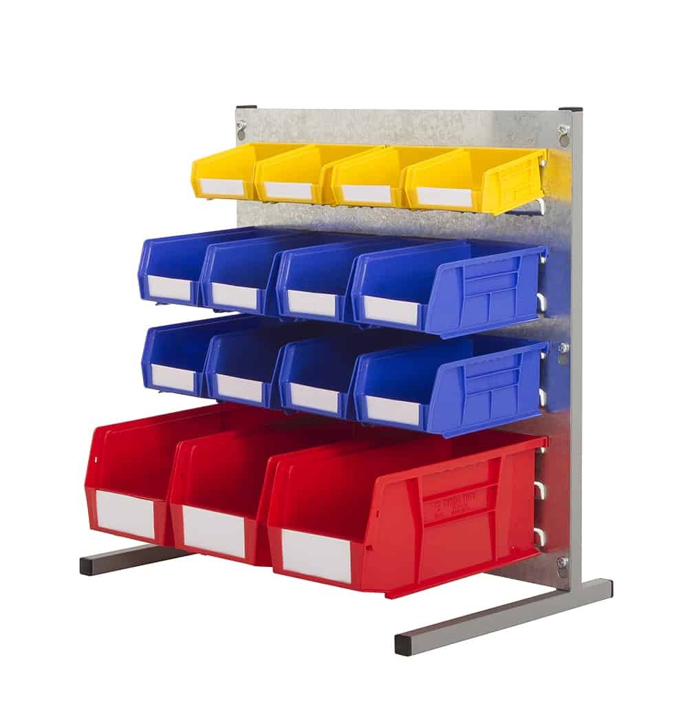 Bench Stands with Plastic Bins (N)