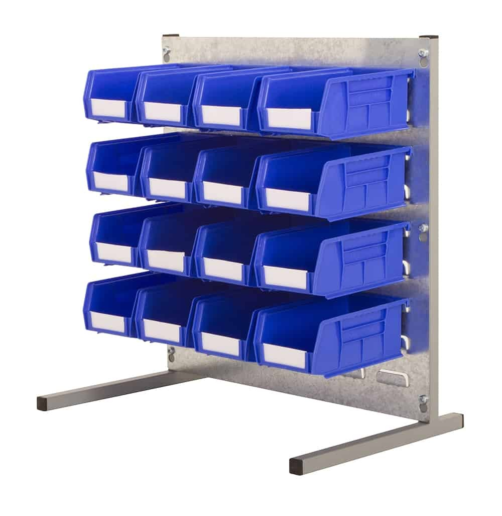 Bench Stands with Plastic Bins (T)