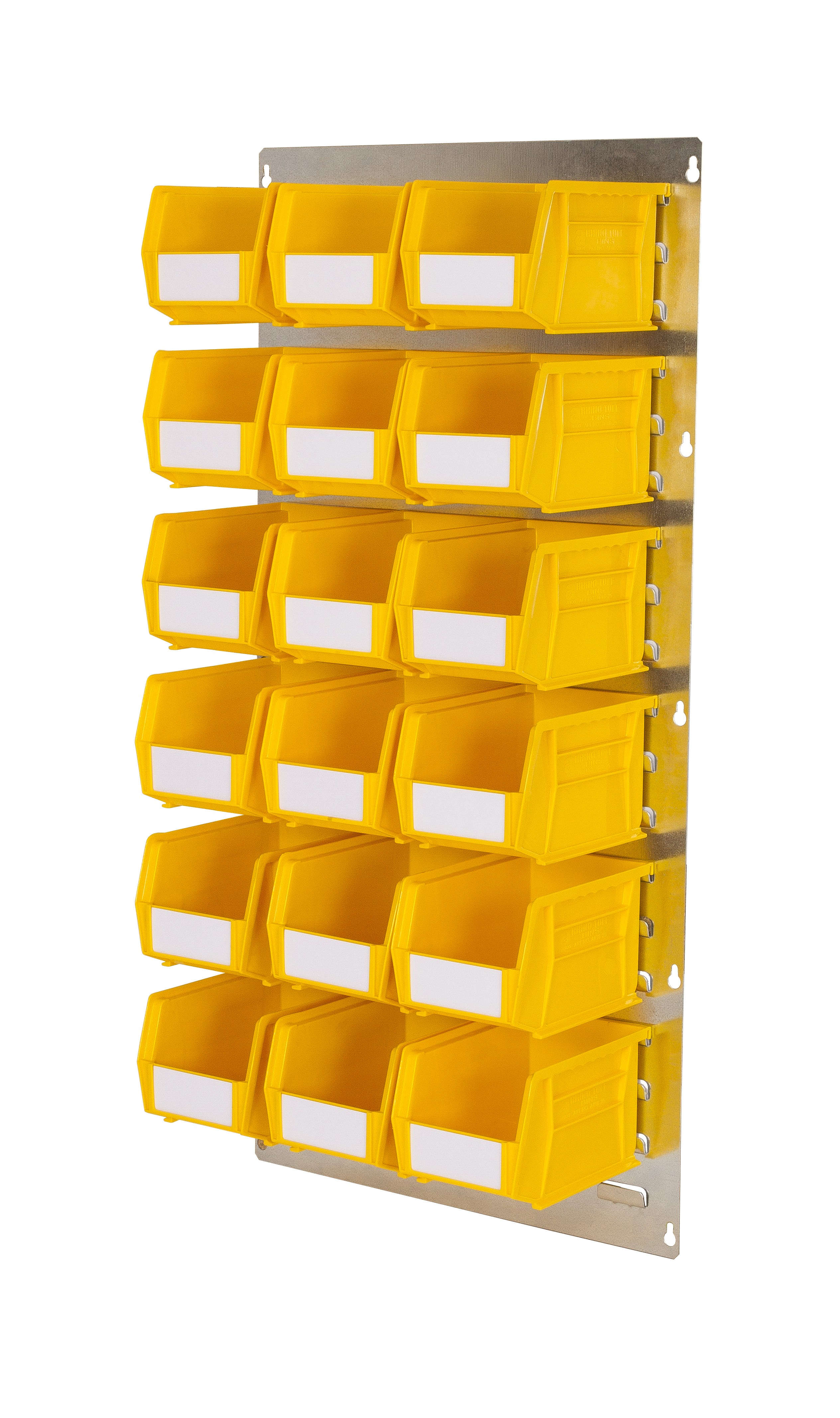 WALL LOUVRE PANELS WITH PLASTIC BINS (MP)