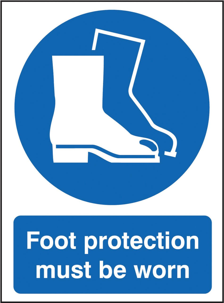 Foot Protection Sign - Dalvie Systems
