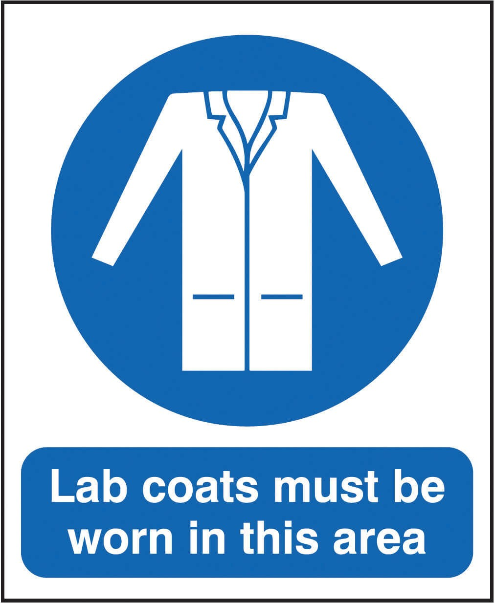 Lab Coats Sign - Dalvie Systems