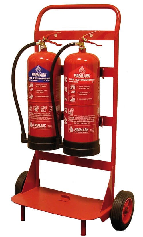 Mobile Extinguisher steel trolley
