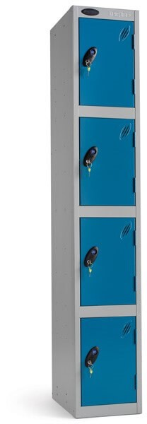 Four Compartment Locker