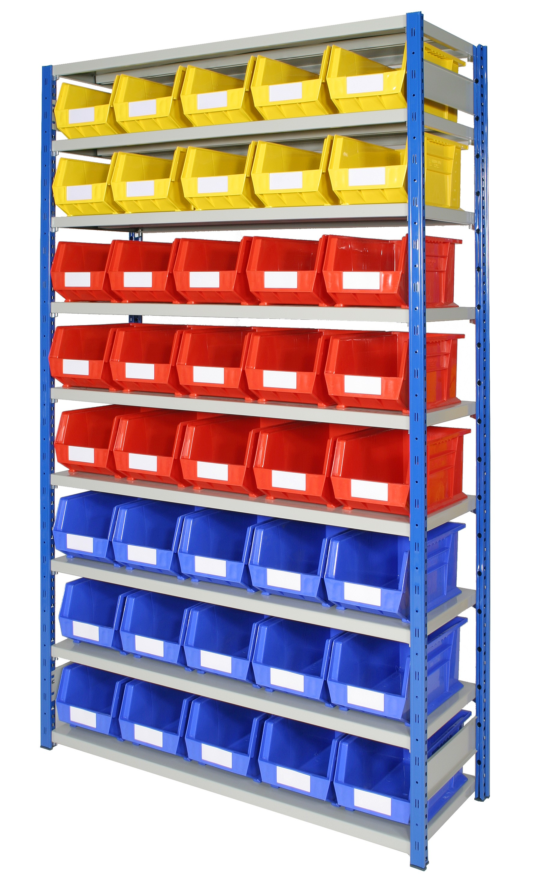 Expo 4 Bays with Plastic Bins - Option A