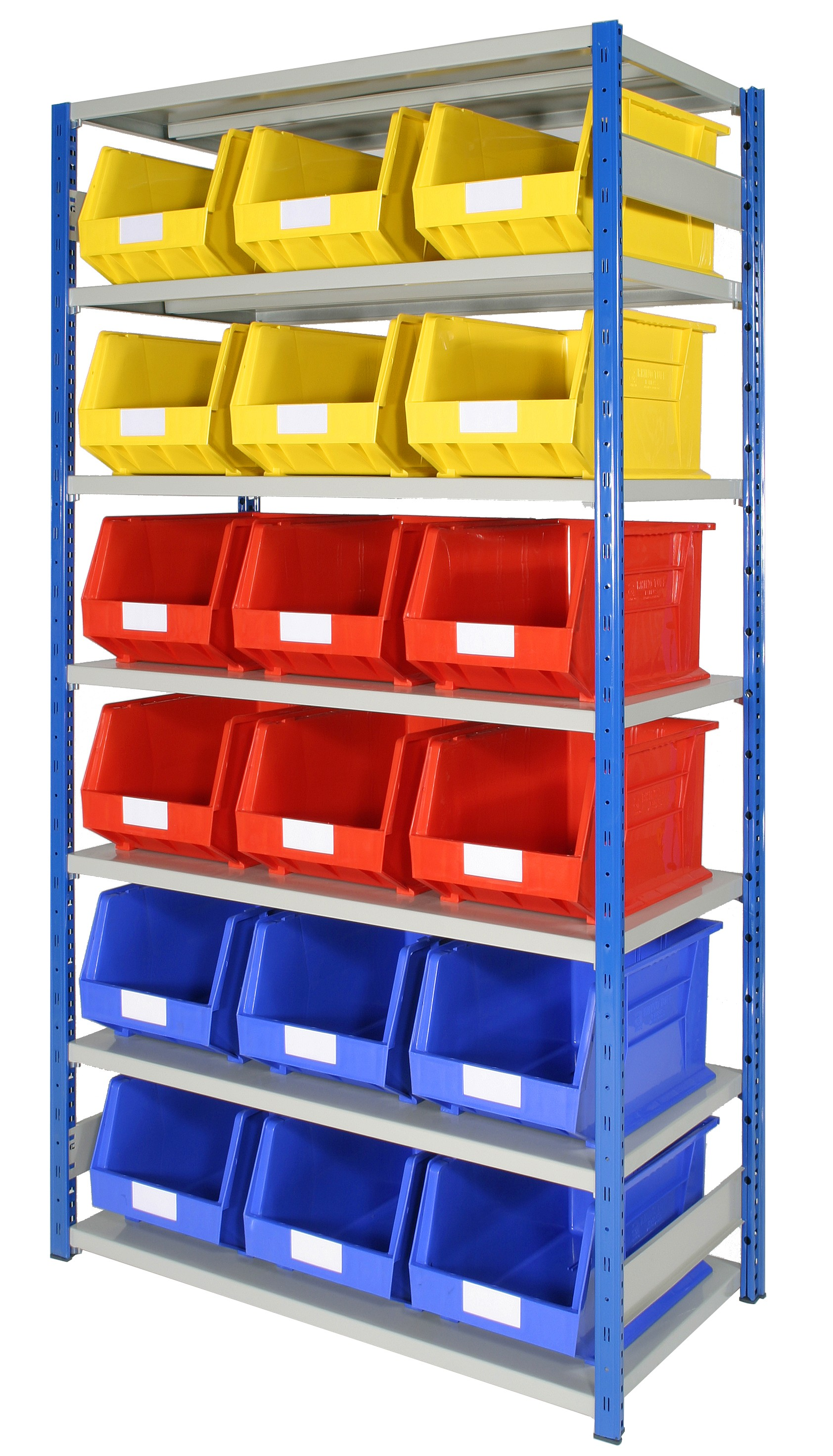 Expo 4 Bays with Plastic Bins - Option C