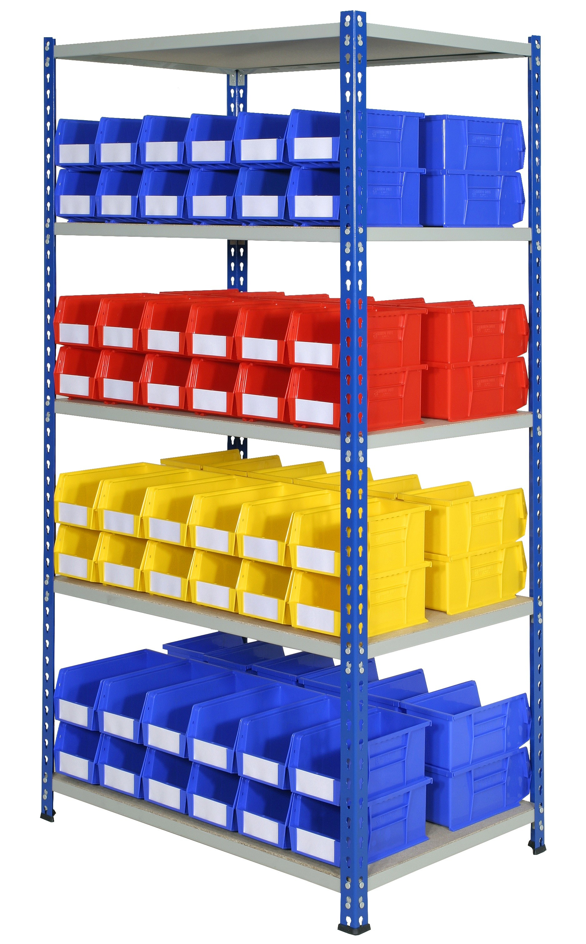 Rivet Bays with Plastic Bins - Option D