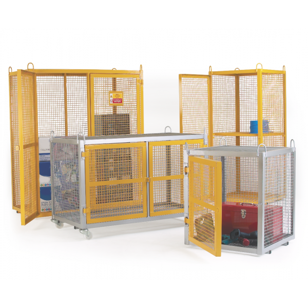 Mobile Security Cage