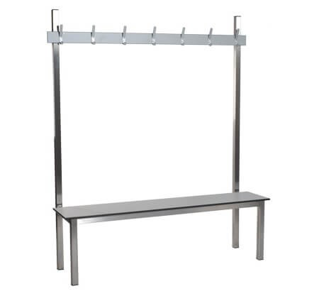 Single Sided Stainless Steel Bench