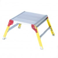 Aluminium Platform with Glass Fibre Legs