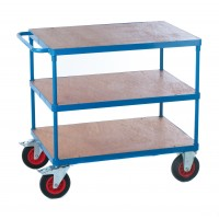Shelf Trolley with Plywood Decking
