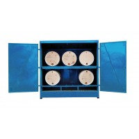 Large Fully Enclosed Drum Storage