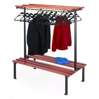 Double Sided Bench with Hangers