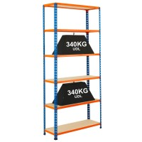 Stockroom Shelving Bay