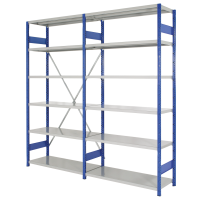 Open Shelving - 6 Levels - 2000mm H