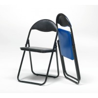 Extra folding chairs (Black)