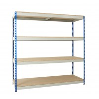 Medium Duty Shelving - 4 Levels - 1830mm H